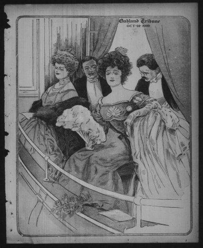 Oakland Tribune 24 October 1909