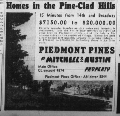 Oakland Tribune Sept 1937