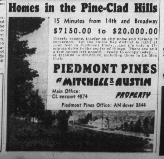 Oakland Tribune Sept 1937