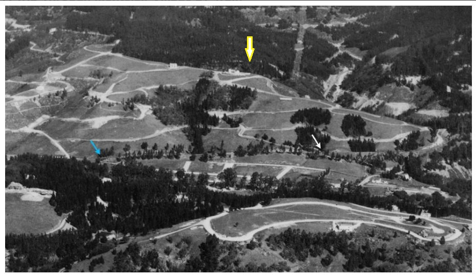 Montclair in 1928 Fairchild Aerial with arrow jpg