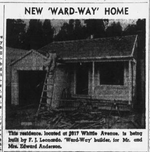 3917 Whittle Ave - Oakland Tribune 1940