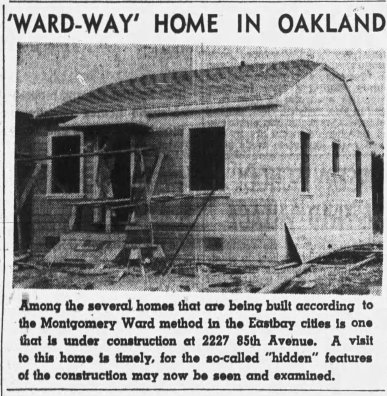 2227 85th Ave - Oakland Tribune 1940