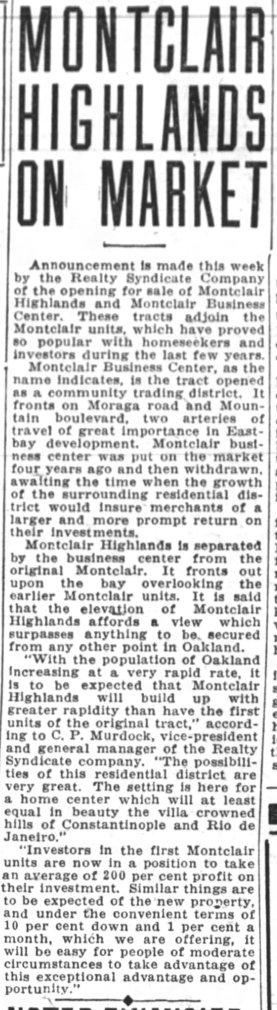 Oakland Tribune May 17, 1925