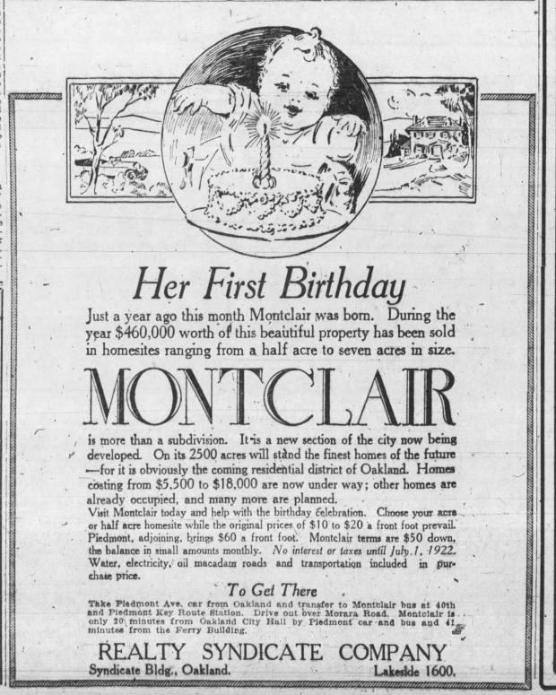 Oakland Tribune October 1921
