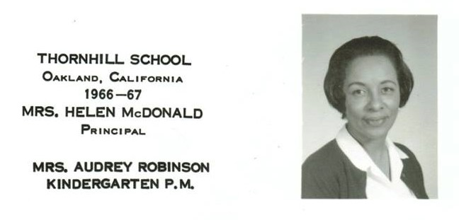 Mrs Robinson 1966 thornhill